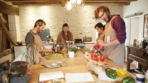 La Grange aux Savoir-Faire - Cours de cuisine, gourmandise et saveur en Loir-et-Cher Val de Loire ©Semmy-Demmou