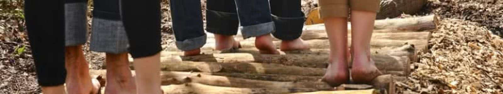 Le sentier pieds nus de Loisirs Loire Valley - Bien-être en Loir-et-Cher ©Loisirs Loire Valley