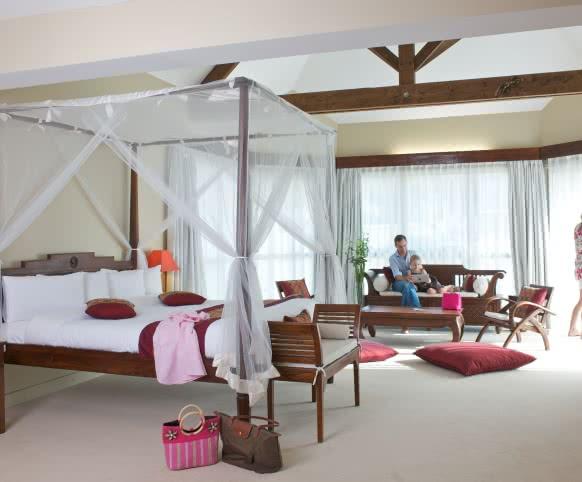 Suite Bali - Hôtel Les Jardins de Beauval - Vacances en famille en Loir-et-Cher Val de Loire ©Stéphane d'Allens pour Les Jardins de Beauval