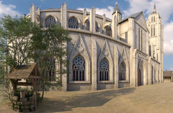 Les bornes Timescope en Loir-et-Cher - Voyage à travers le temps au château royal de Blois
