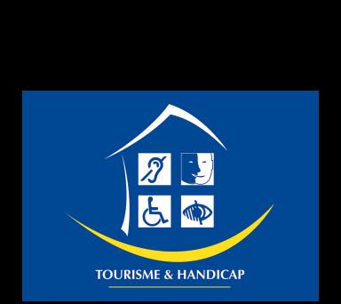 Logo Tourisme et Handicap en Loir-et-Cher Val de Loire