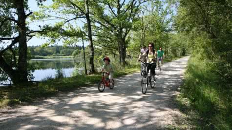 Balade en vélo et sports de nature sur les chemins de Sologne en Loir-et-Cher Val de Loire - Vacances en famille et entre amis ©CDT41-enola