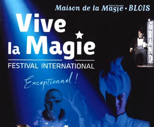 Festival International de Magie à la Maison de la Magie de Blois - 6 et 7 ocotbre 2018
