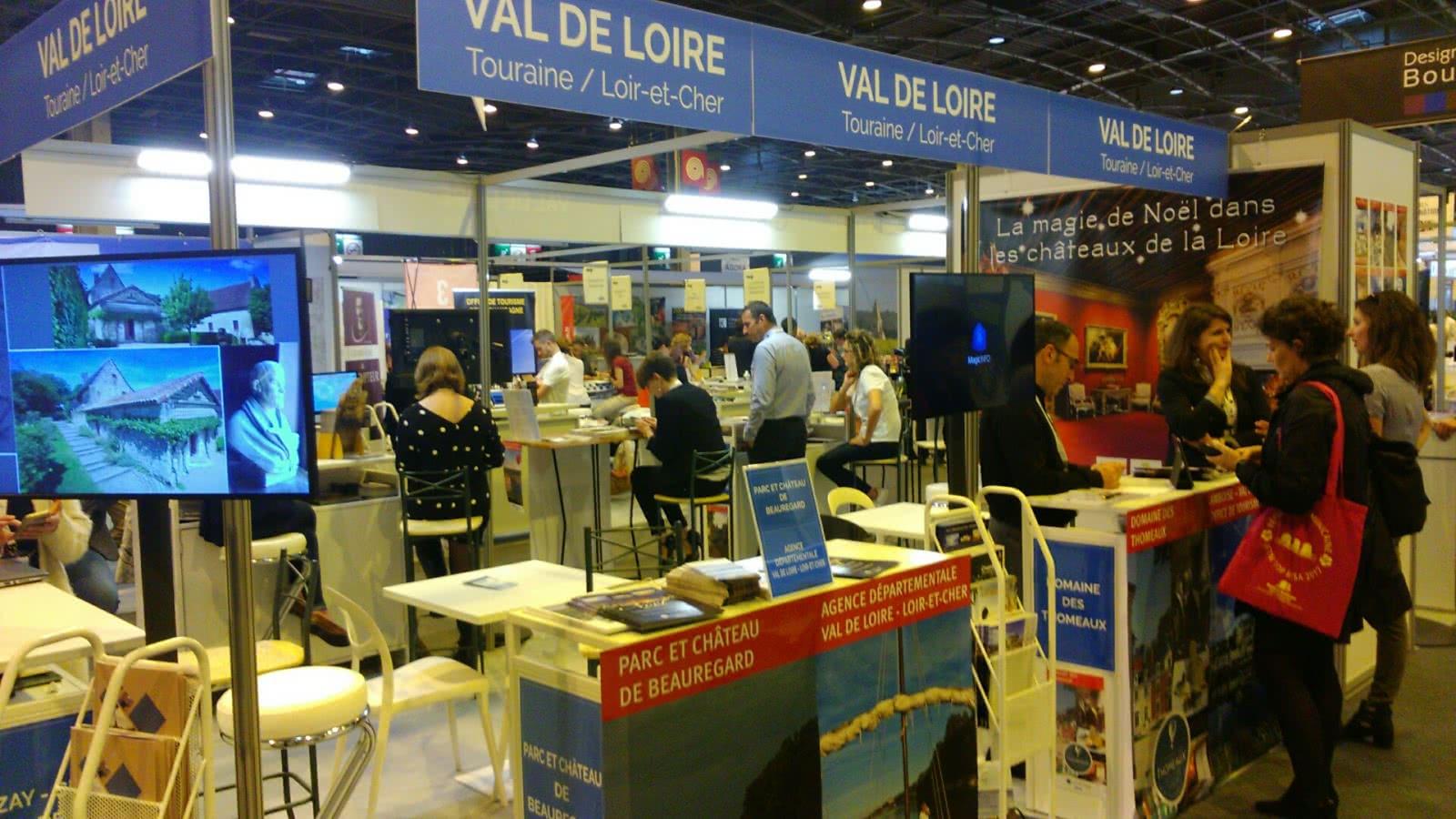 Map Pro 2017 - L'ADT assure la promotion du Loir-et-Cher en Val de Loire sur les salons professionnels ©Sophie Duperron (8)