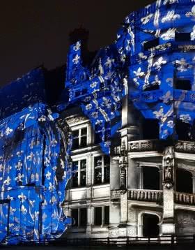 Provoyage - Le Son et Lumières 2018 du château royal de Blois ©F.Leguere