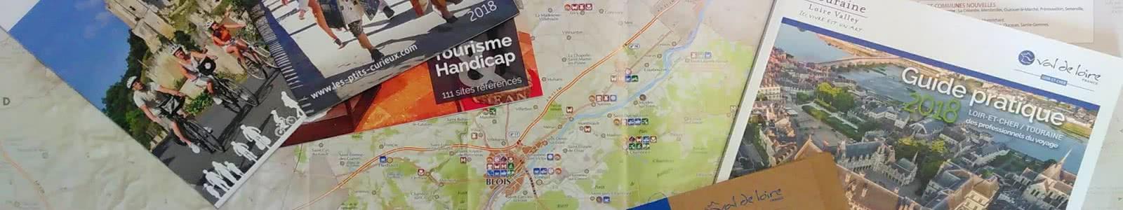 Brochures agence de développement touristique Loir-et-Cher