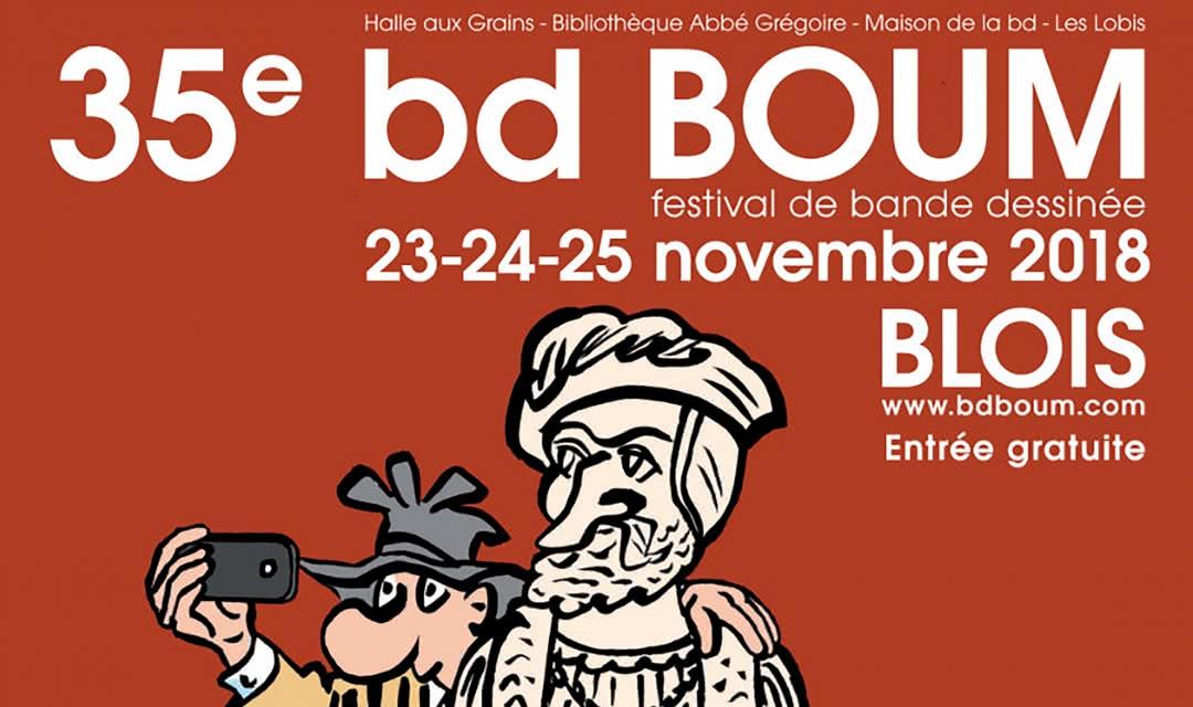 BD Boum - Festival de BD à Blois en Loir-et-Cher - Val de Loire