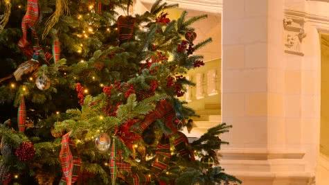 Noël à Chambord en Loir-et-Cher Val de Loire ©Léonard de Serres