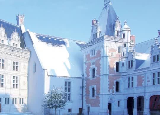 Noël au château royal de Blois en Loir-et-Cher Val de Loire