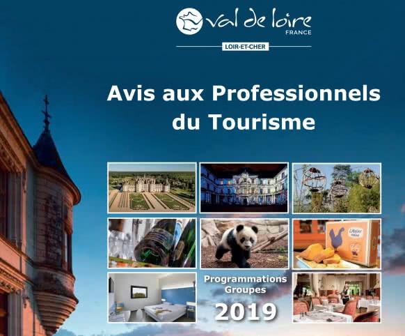 Provoyage - Brochure Démarchage Professionnel du Loir-et-Cher en Val de Loire 2019