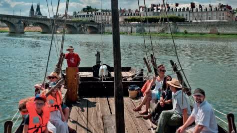 Provoyage - Offres touristiques groupes en Loir-et-Cher - Val de Loire - Balade en bateau sur la Loire