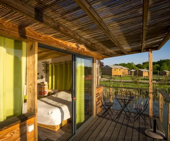 Les campings autour de Chambord en Loir-et-Cher Val de Loire ©Cyril Chigot Conseil départemental 41