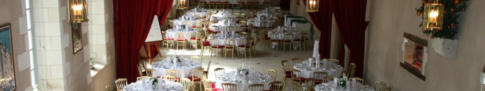 Château de Cheverny - Salle de réception de l'Orangerie - Congrès, séminaires et événements en Loir-et-Cher Val de Loire