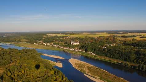 La Loire à Chaumont sur Loir Loir et cher