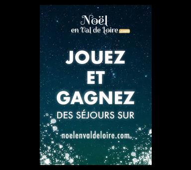 Jouez et gagnez des cadeaux avec Noël en Val de Loire