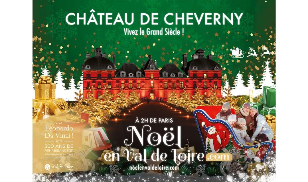 Provoyage - Campagne Noël en Val de Loire et Loir-et-Cher - Château de Cheverny