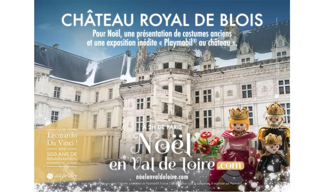 Provoyage - Campagne Noël en Val de Loire et Loir-et-Cher - Château Royal de Blois
