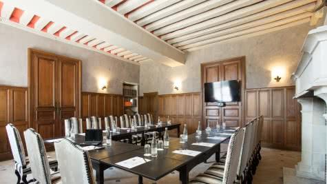 Provoyage - Salle de réception séminaire du Château de Cheverny - Tourisme d'affaires en Loir-et-Cher Val de Loire ©Château de Cheverny