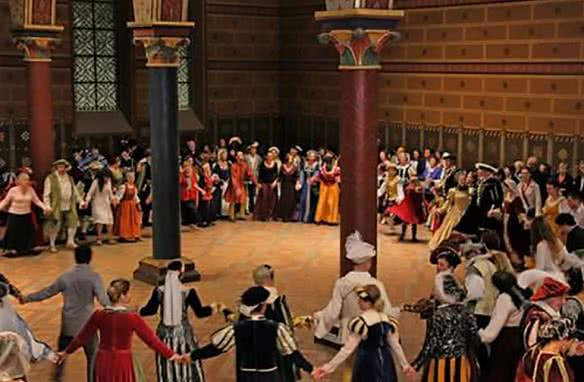 Grand bal Renaissance au château royal de Blois - Visites historiques en Loir-et-Cher Val de Loire ©Château de Blois