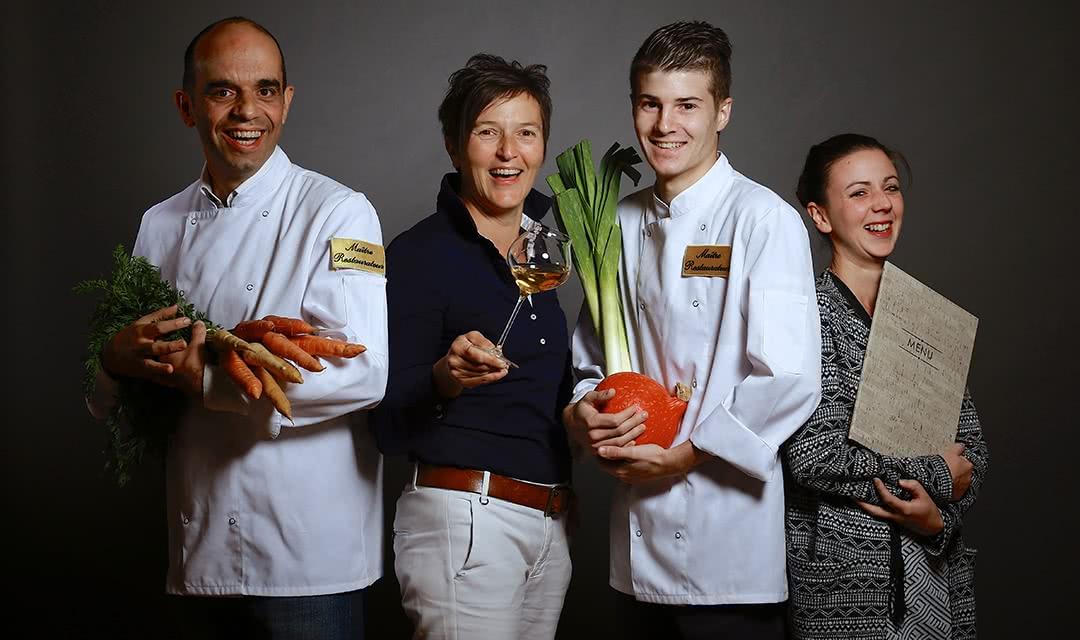 Les Closeaux Christophe Lunais - Cuisine en Loir-et-Cher et Maîtres Restaurateurs du Loir-et-Cher en Val de Loire