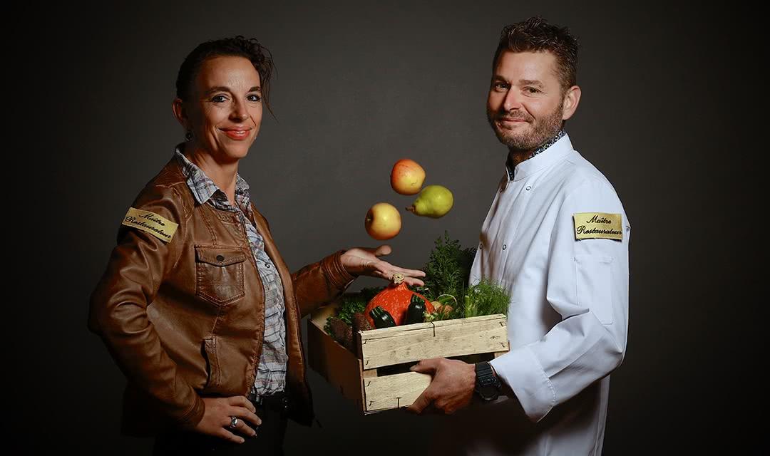 Auberge de l'Ecole David Moreau - Cuisine en Loir-et-Cher et Maîtres Restaurateurs du Loir-et-Cher en Val de Loire