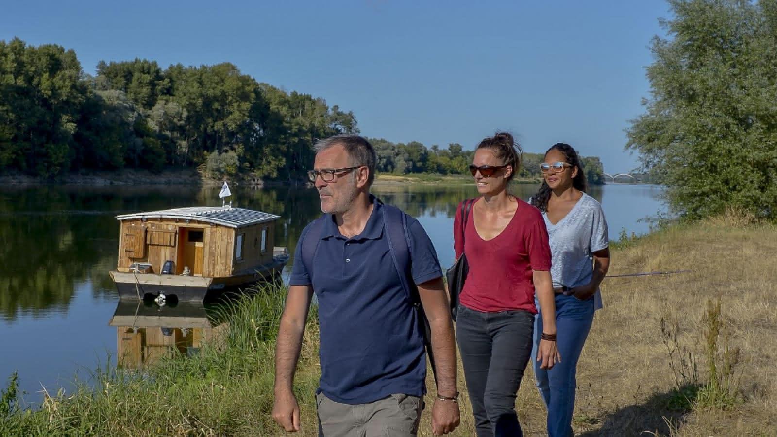 Balades randonnée pédestre Saint-Dyé-sur-Loire - Vacances en Loir-et-Cher Val de Loire ©Laurent-Alvarez-ADT41 (9)