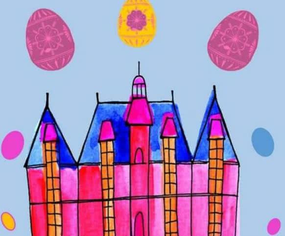 Chasse aux oeufs au château de Villesavin ©Château de Villesavin