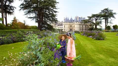 Visite en famille au Domaine et Festival International des Jardins de Chaumont-sur-Loire - Vacance en famille en Loir-et-Cher Val de Loire @Ludovic Letot - ADT41