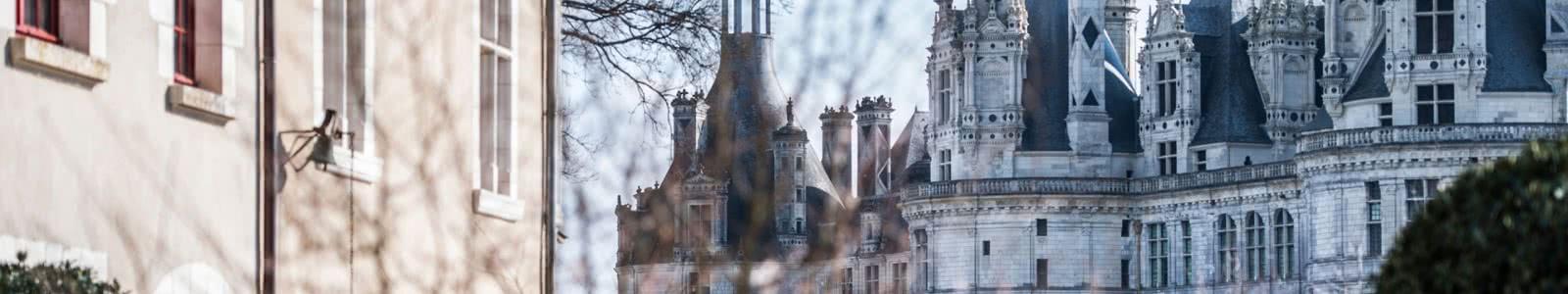 Relais de Chambord hôtel vue château