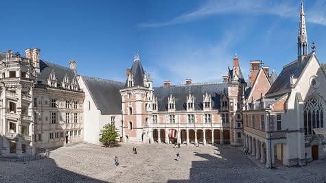 Le Château Royal de Blois - 500 ans de Renaissances en Loir-et-Cher Val de Loire ©Château Royal de Blois