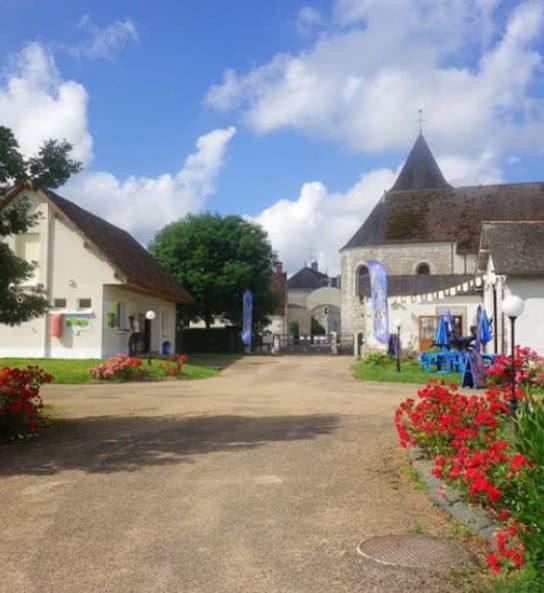 camping près de Beauval - le port