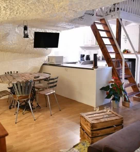 maison troglodyte à Montrichard - Troglo'riel