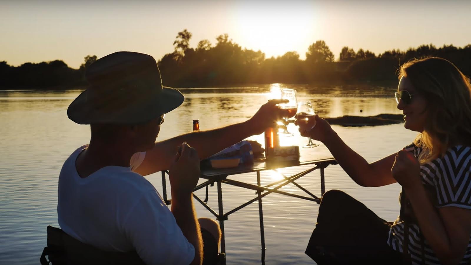 Pique-nique sur la Loire avec l'association Milière Raboton - Chaumont-sur-Loire en Loir-et-Cher Val de Loire - Vacances en famille ou escapade amoureuse - 20 ans du classement Unesco du Val de Loire