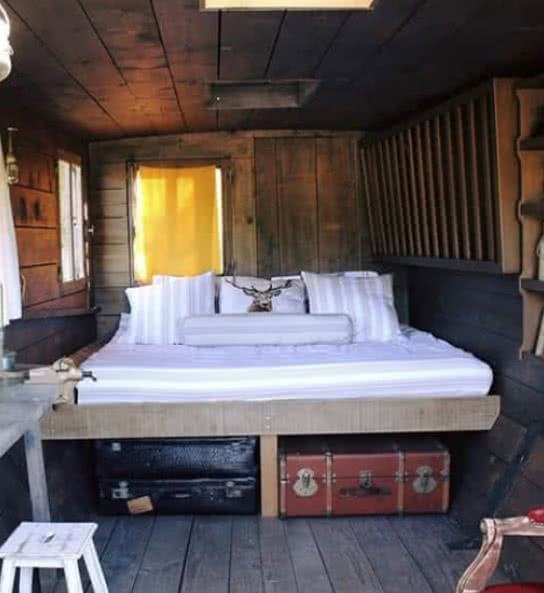 hébergement insolite - la cabane de Totoche