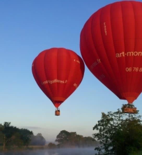 Art Montgolfières - Vols en mongolfière au-dessus des châteaux de la Loire - Expérience insolite en Loir-et-Cher Val de Loire ©Art Montgolfières