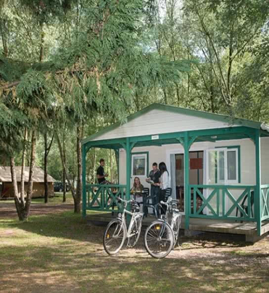 campings et hébergements insolites proches de Cheverny - camping sites et paysages Les Saules