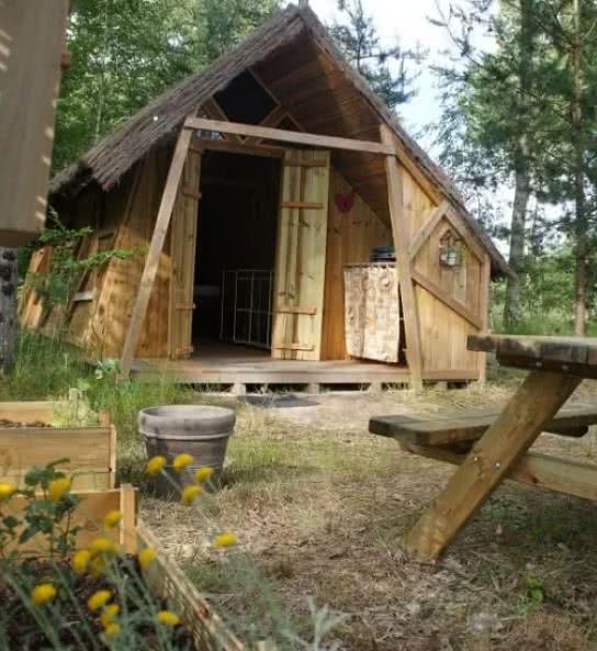 campings et hébergements insolites proches de Cheverny - l'heureux hasard