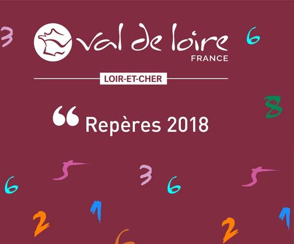 Provoyage - Repères 2018 - Statistiques fréquentation touristique du Loir-et-Cher en Val de Loire