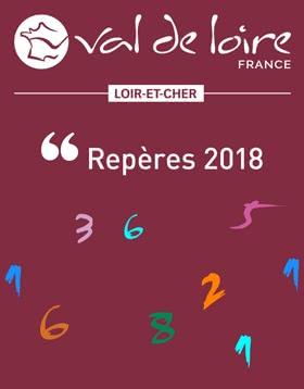 Provoyage - Repères 2018 - Statistiques fréquentations touristiques du Loir-et-Cher en Val de Loire