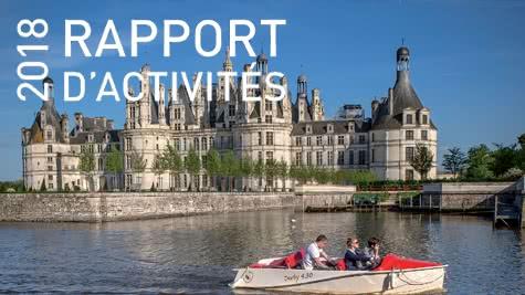 Rapport d'activités 2018 de l'Agence de Développement Touristique Loir-et-Cher Val de Loire