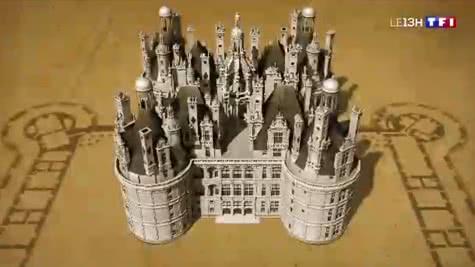 TF1 - À la découverte de François Ier et des joyaux de l'architecture - 500 ans de Renaissance en Loir-et-Cher Val de Loire
