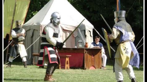 La Commanderie Templière d'Arville - fête médiévale