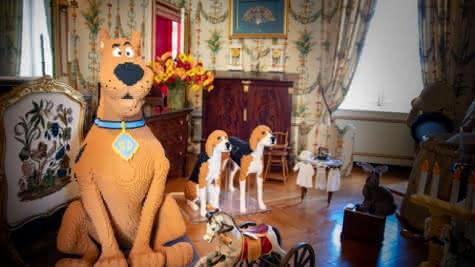 Idées de sortie d'août en Loir-et-cher - exposition LEGO au château de Cheverny