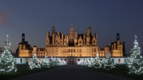 Noël au château de Chambord - Vacances de Noël en Val de Loire Loir-et-Cher ©Léonard de Serres
