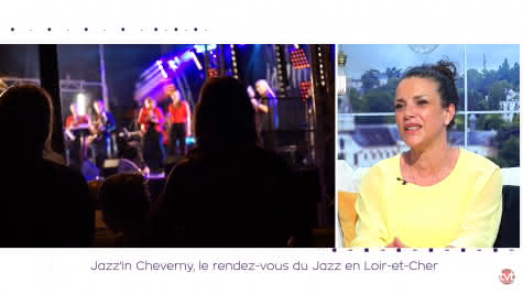 TILT TV TOURS - Jazzin'in Cheverny en guest star