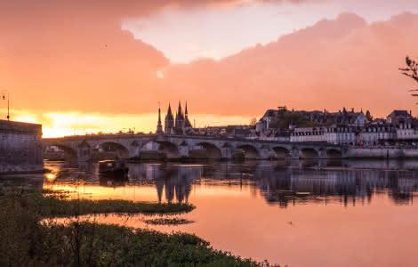 Vue en soirée de Blois - A voir à faire autour du château de Blois©Marion-Leniau-ADT41