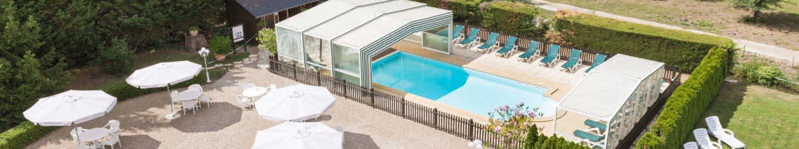 Le Relais des Landes - Hôtel avec piscine en Val de Loire Sologne