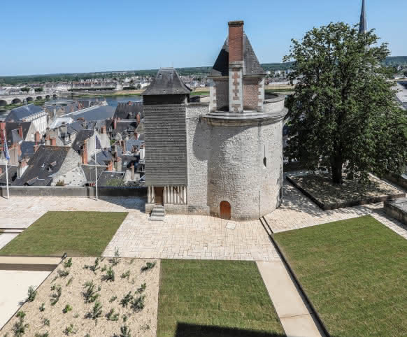 Jardins du château royal de Blois - Vacances en Val de Loire Loir-et-Cher ©T. Bourgoin