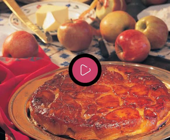 La Tarte Tattin de Sologne - Vidéo de la recette ©CLAZI