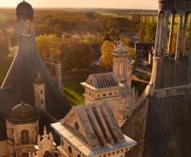 Lanternes restaurées du château de Chambord - Vacances en Loir-et-Cher Val de Loire - 20 ans du classement Unesco du Val de Loire ©Léonard de Serres